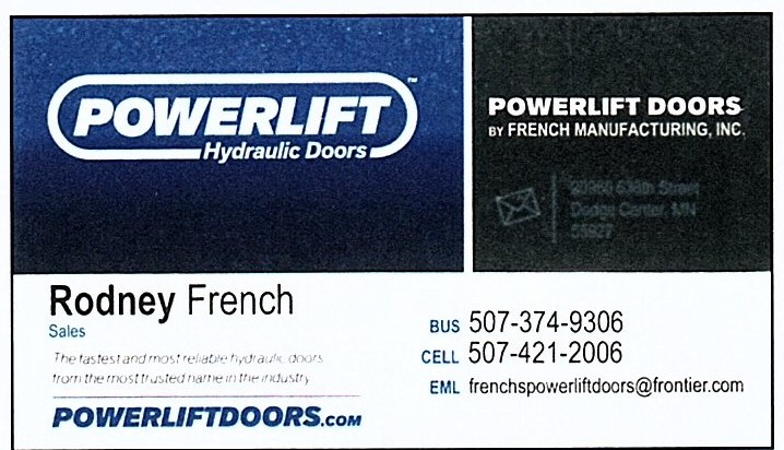 French's Powerlift Doors